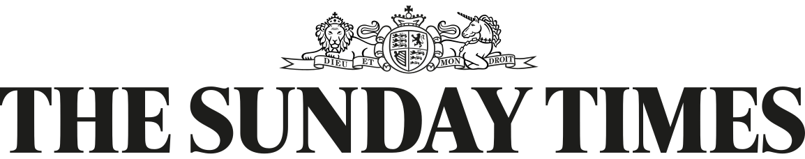 the sunday times-with-crest-black-logo
