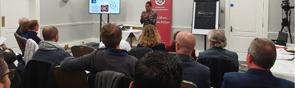 Janice B Gordon Speaking at PSA South East